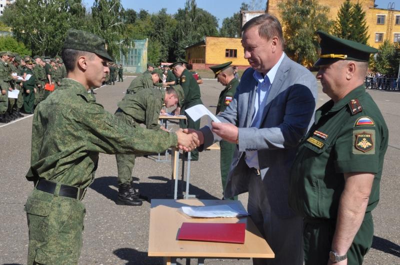 Торжественный выпуск курсантов института военного обучения